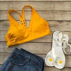 Yellow Bikini Top | Xhilaration